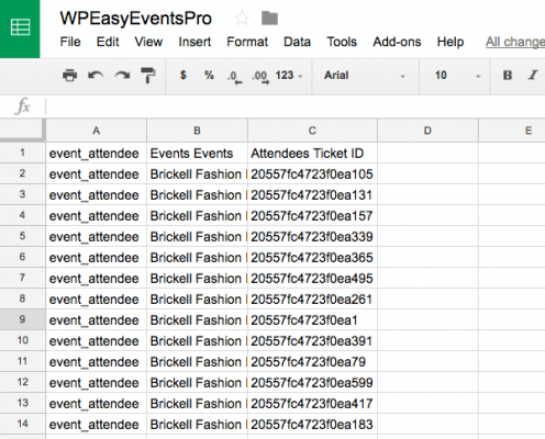 Import Event Attendees in bulk and send them tickets via email using WP Easy Events WordPress plugin