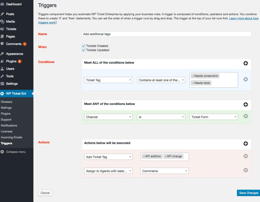 EmdPlugins.com WordPress plugins come with powerful Workflow functionality