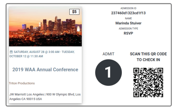 How to include the QR code of an event ticket on your ticket email using WP Easy Events WordPress Plugin