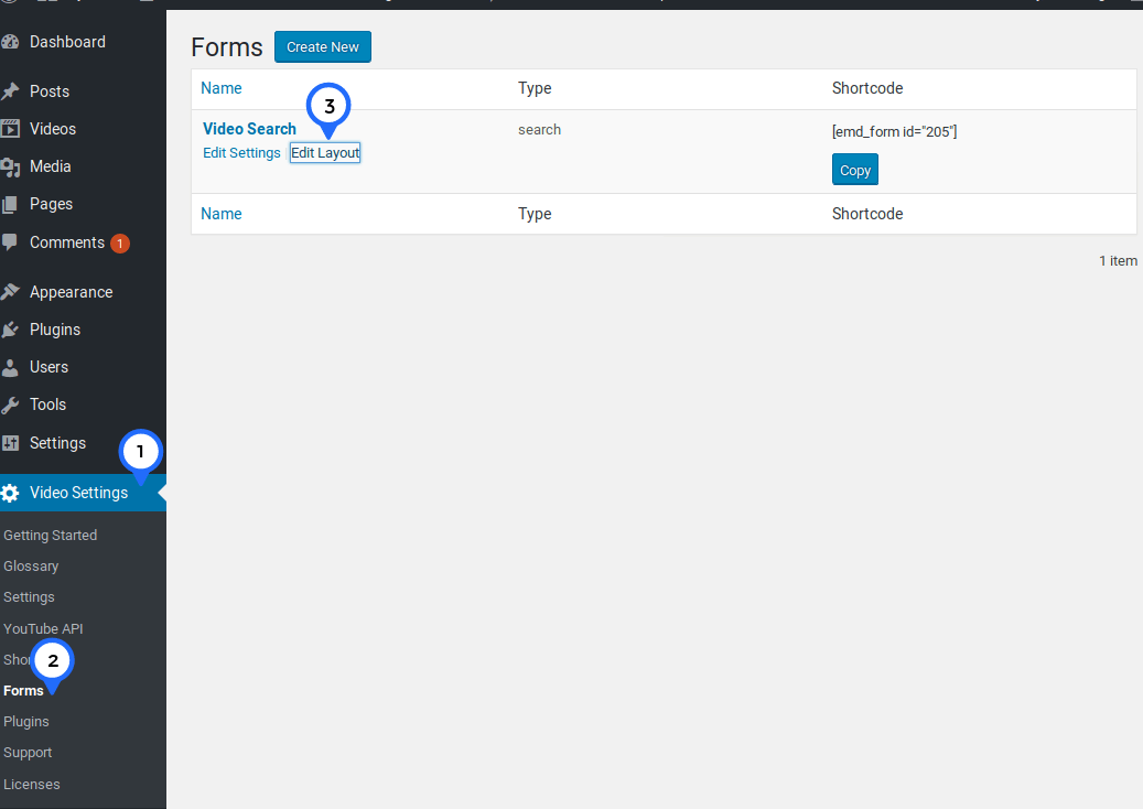 YouTube ShowCase Pro comes with EMD Form Builder Lite which allows customization of prebuilt forms