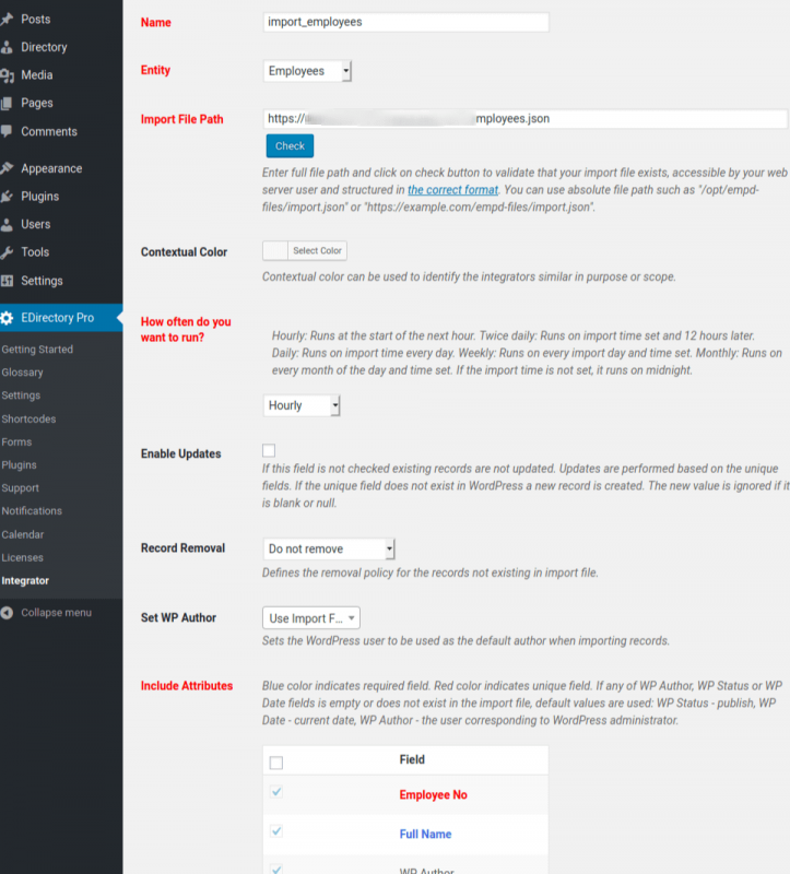 EMD Integrator is a powerful WordPress plugin which can integrate data from one to many external sources to WordPress.